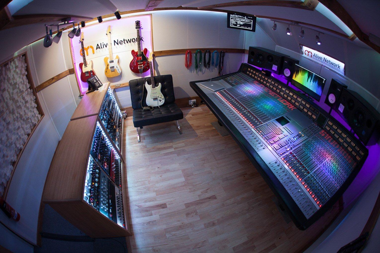 SSL control room photo