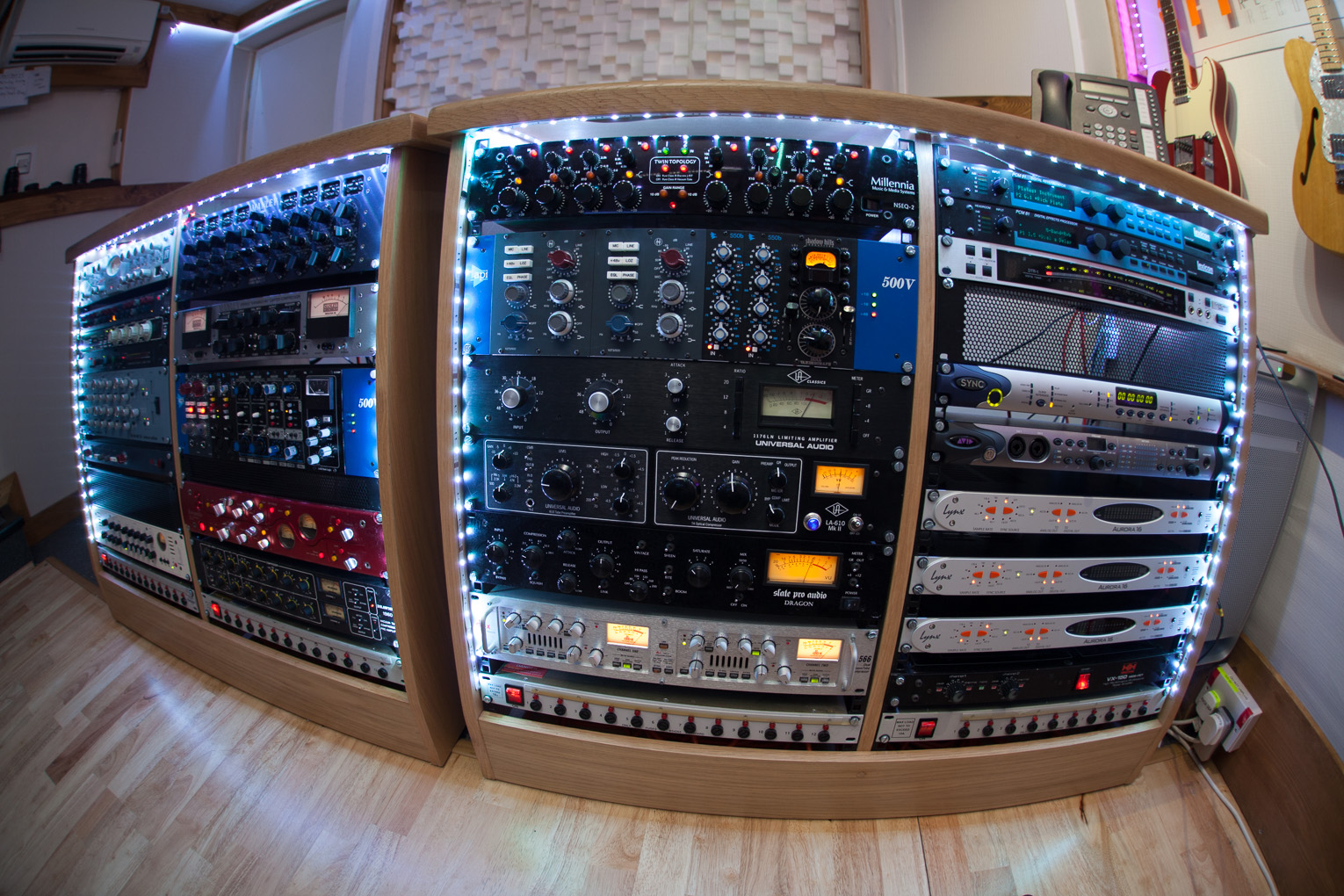 Outboard pre amps compressors and eqs