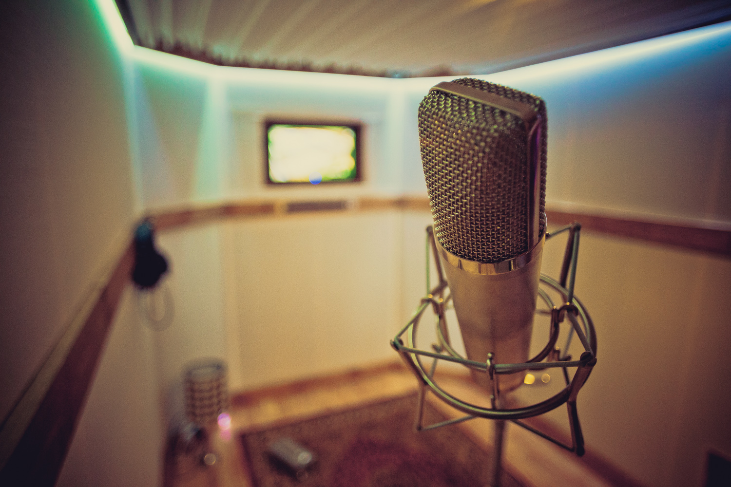 Large Vocal and Overdub Booth