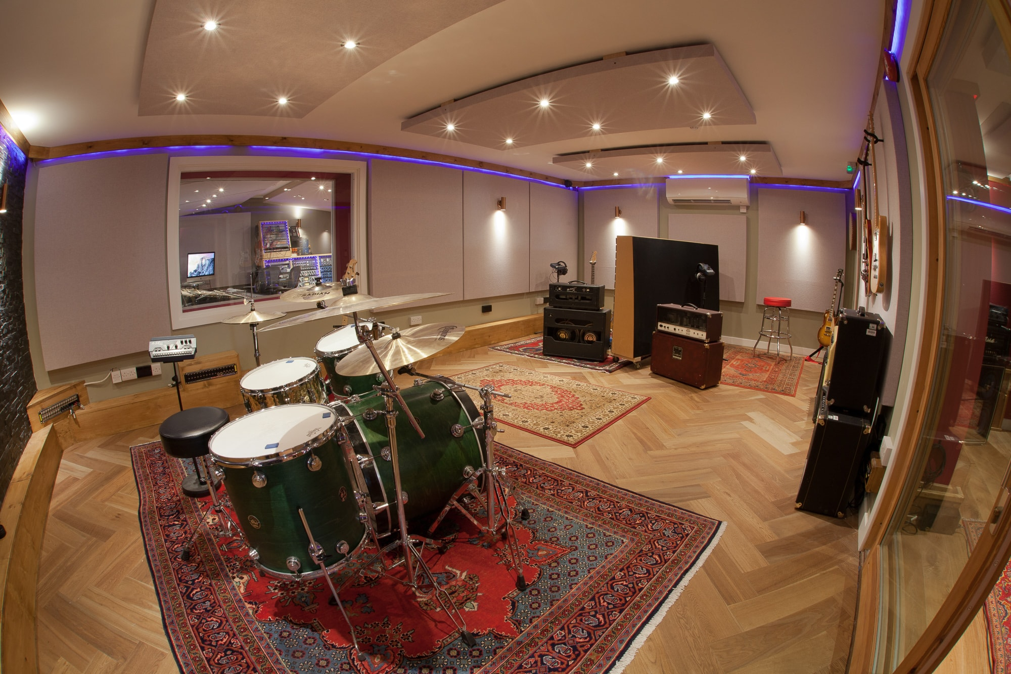 Live Neve tracking room