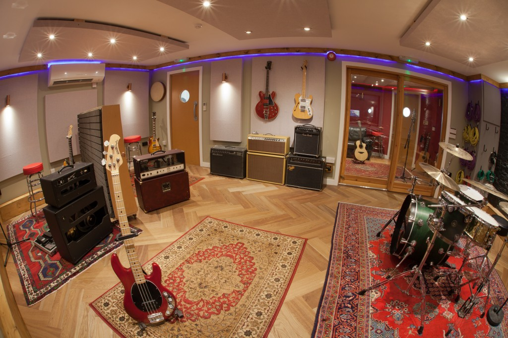 Attractive The Silk Mill Recording Studios