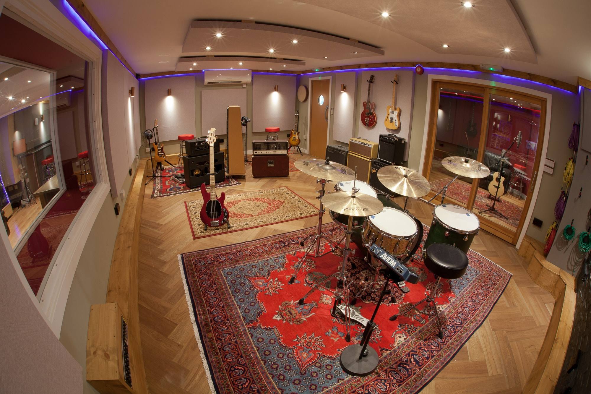 The Silk Mill Recording Studios Staffordshire Neve Ssl
