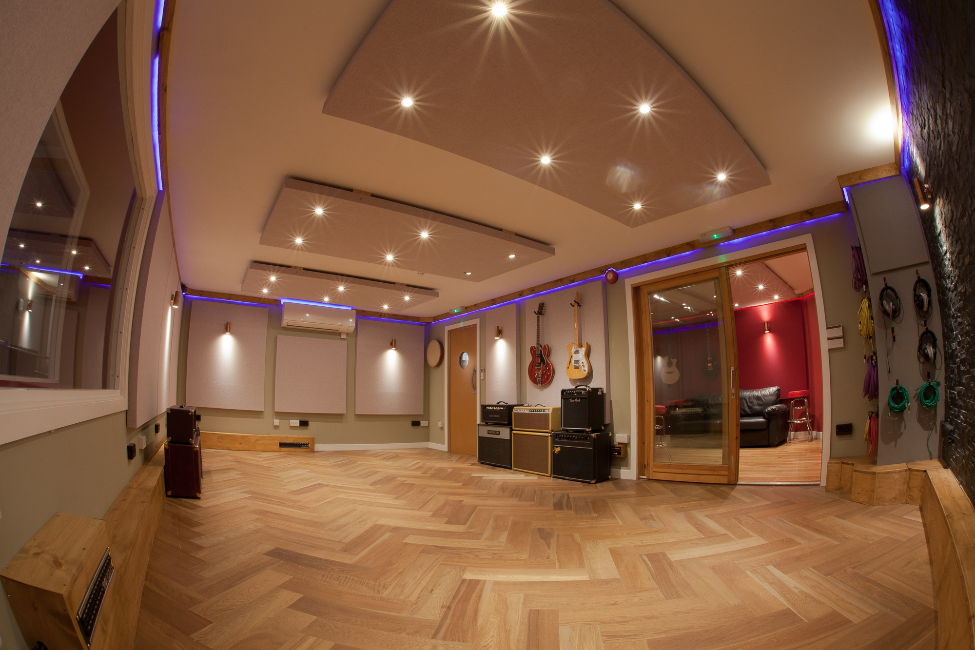 Rooms at silk mill recording studio neve ssl for The family room recording studio
