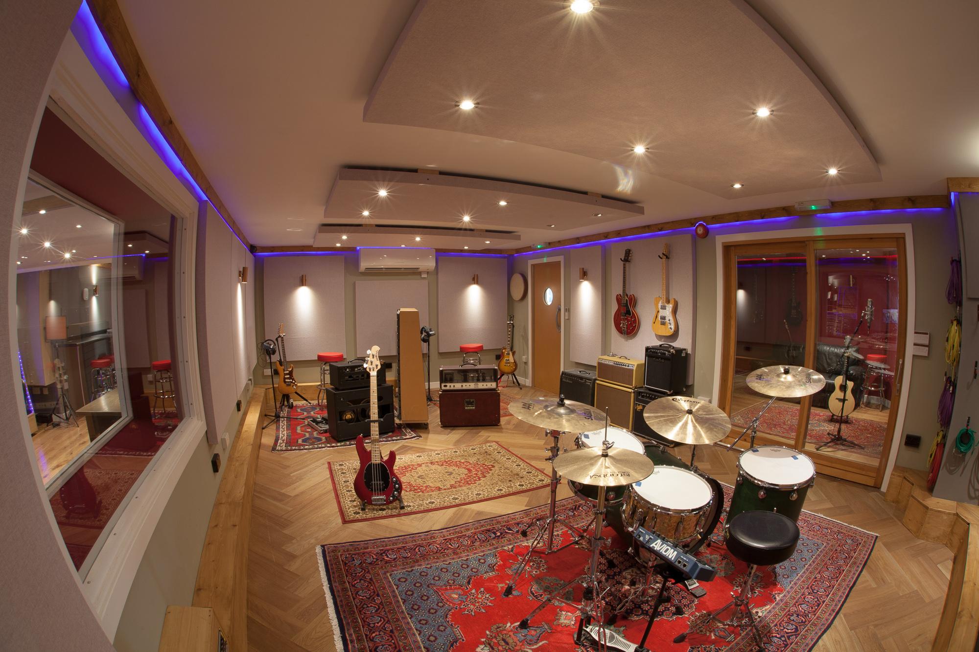 The Silk Mill Recording Studio Live Room Photos